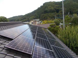 太陽光発電システムを伊豆市・S様宅に導入しました