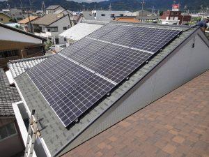 太陽光発電システムを静岡市・K様宅に導入しました