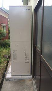 エコキュートを伊豆市・S様宅に導入しました
