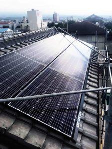 太陽光発電システムを富士宮市・O様宅に導入しました