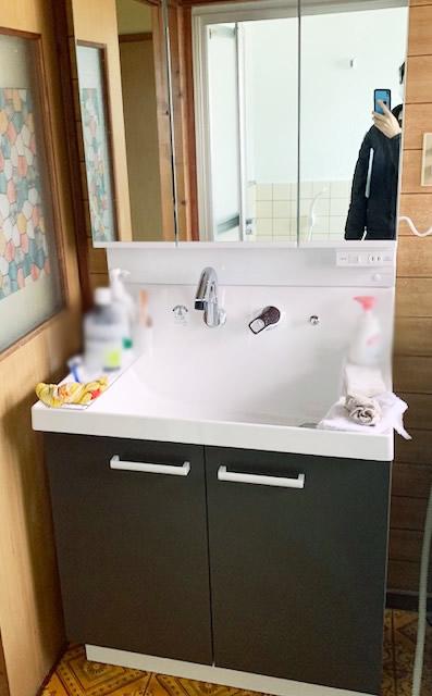 洗面台リフォーム 三島市・Y様宅