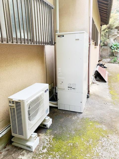 エコキュートを熱海市・M様宅に交換設置