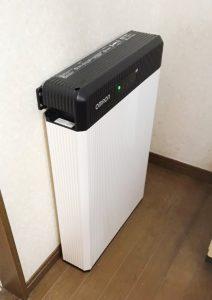 蓄電池システムを伊東市・M様宅に導入しました
