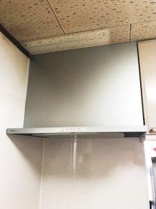 レンジフードを伊豆の国市・S様宅に設置しました