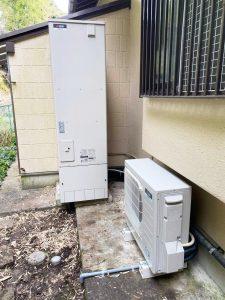エコキュートを富士宮市・S様宅に交換設置