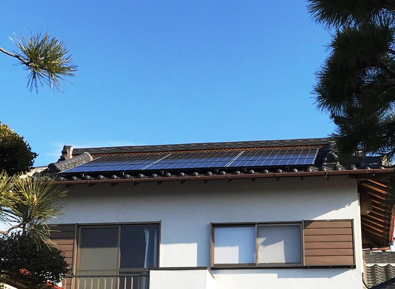 太陽光発電システムを富士宮市・Y様宅に導入しました