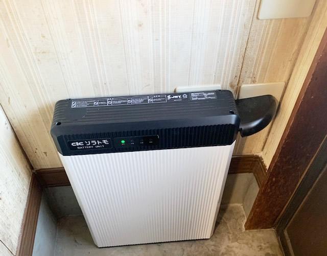 蓄電池システムを函南町・S様宅に導入しました