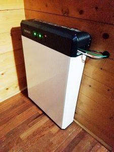 蓄電池システムを身延町・T様宅に導入しました
