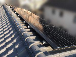 太陽光発電システムを焼津市・T様宅に導入しました