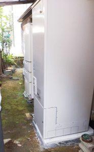エコキュートを函南市・O様宅に交換設置